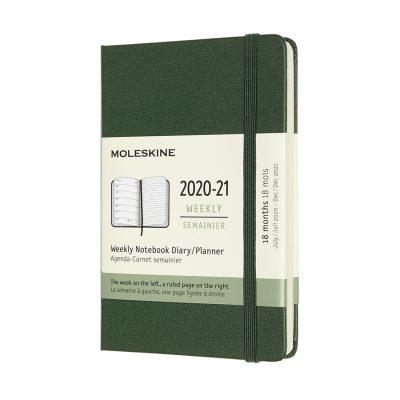 2020-2021 Щоденники / Щотижневики (18 Місяців)